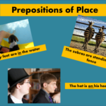 Summer English Lesson XVII. Prepostitions of Place